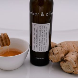 honey ginger balsamic