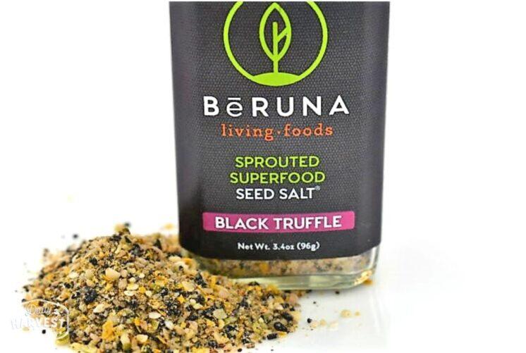 BeRuna Black Truffle Seed Salt