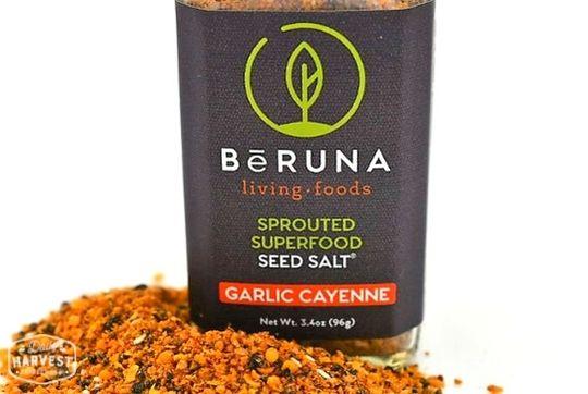 BeRuna Garlic Cayenne Seed Salt