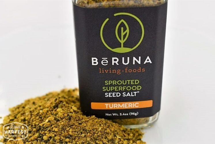 BeRuna Turmeric Seed Salt