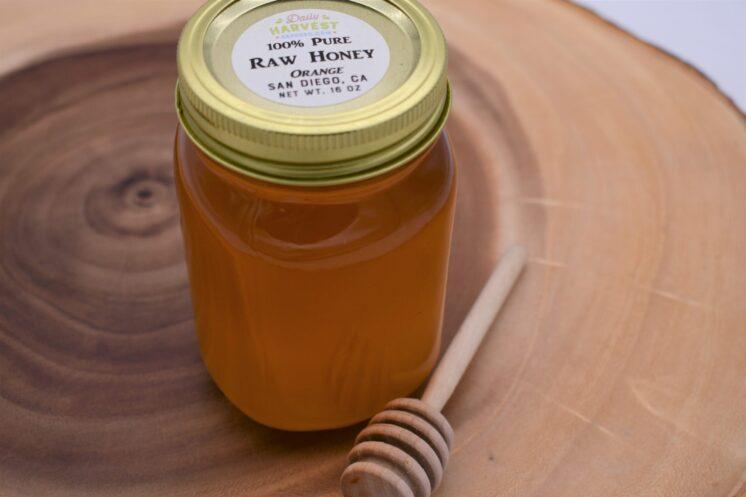 raw honey 16oz