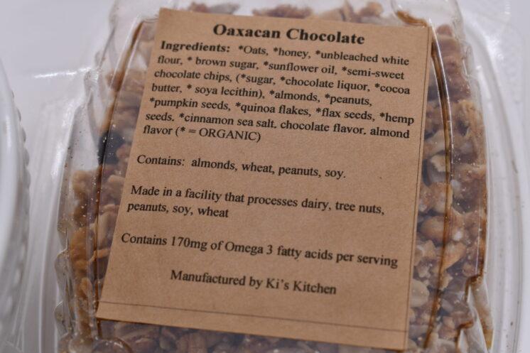 oaxacan chocolate granola ingredients