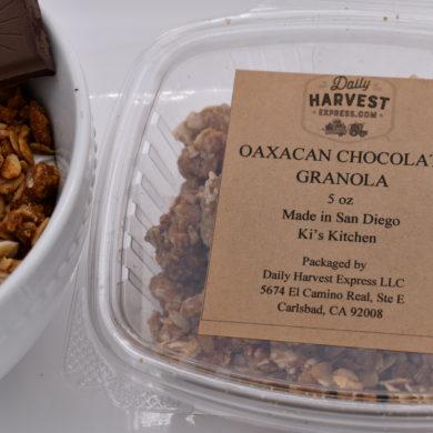 oaxacan chocolate granola