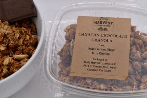 oaxacan chocolate granola
