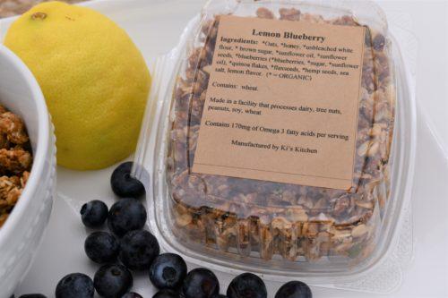 lemon blueberry granola ingredients