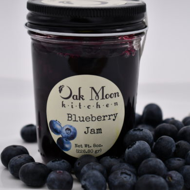 Oak Moon Kitchen Blueberry Jam