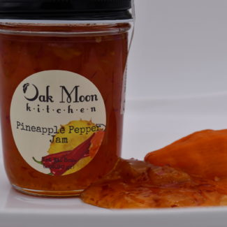 Oak Moon Kitchen Pineapple Pepper Jam