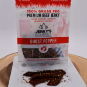 grass fed ghost pepper jerky