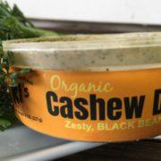ki's kitchen black bean cashew dip