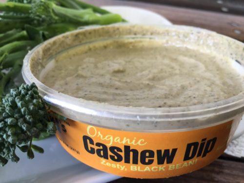 ki's black bean cashew dip