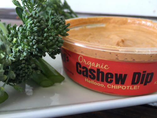 ki's chipotle cashew dip