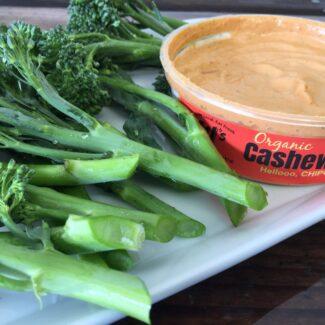 ki's cashew chipotle dip