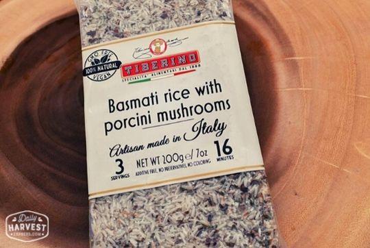 One Pot Pasta-Tiberino Basmati Rice with Porcini