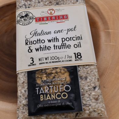 risotto with porcini