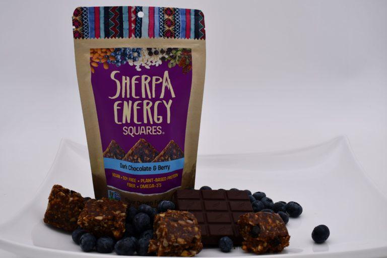 sherpa energy dark chocolate berry