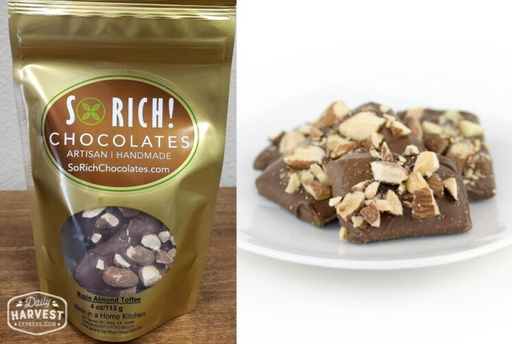 So Rich Maple Almond Toffee