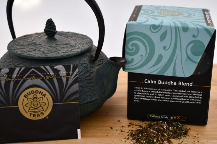 Buddha Tea Calm Buddha Blend Info