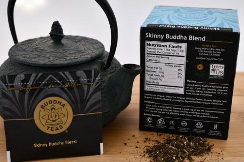 Buddha Teas Skinny Blend Nutrition