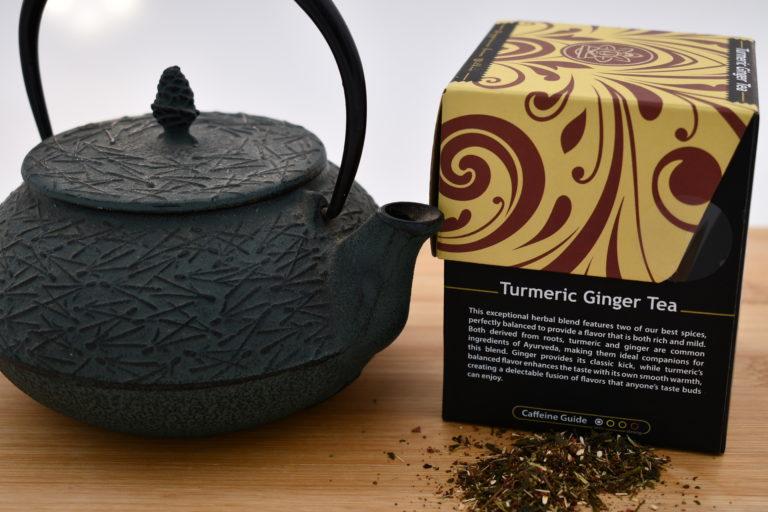 Buddha Tea Turmeric Ginger Info