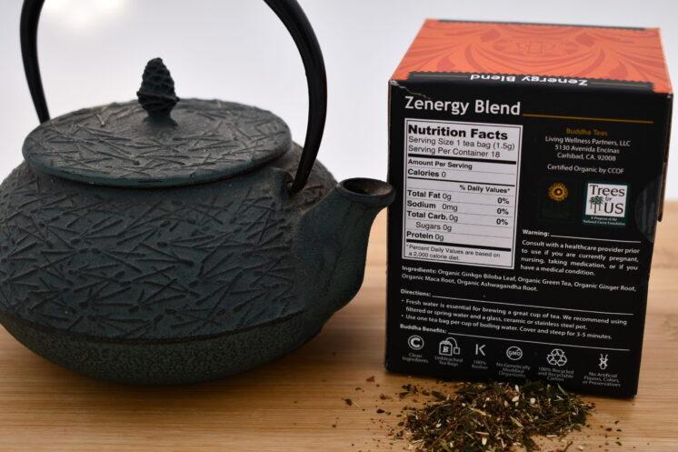 Buddha Tea Zenergy Nutrition