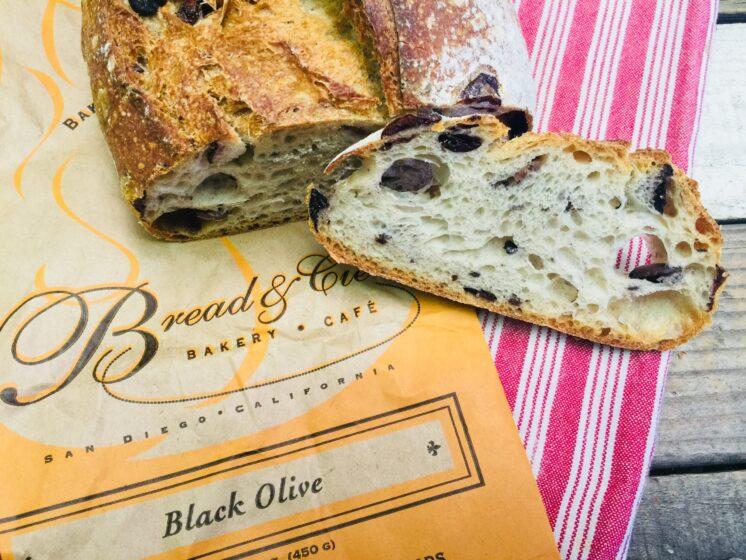 black olive bread