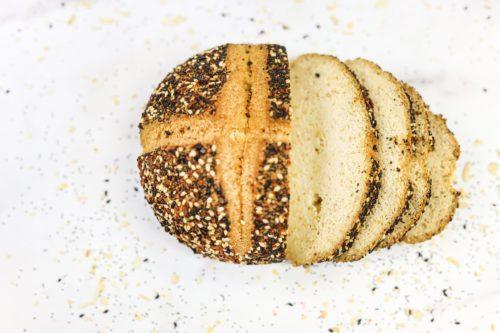 everything bagel bread-keto & gluten free