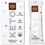 good lovin keto bars chocolate coconut
