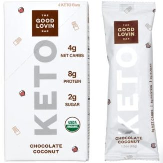 good lovin keto bars chocolate coconut