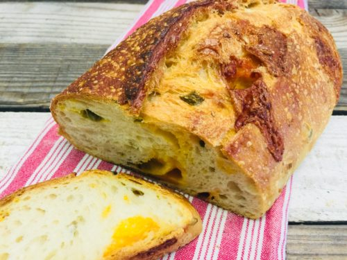jalepeno and cheese bread