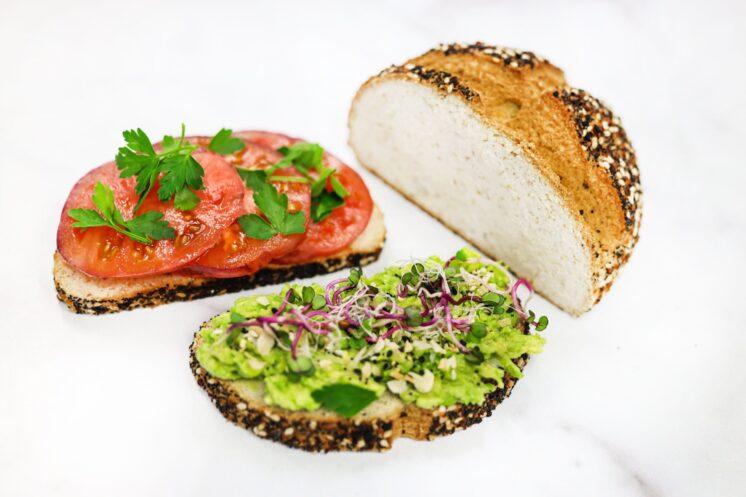 Keto & Gluten Free Everything Bagel Bread