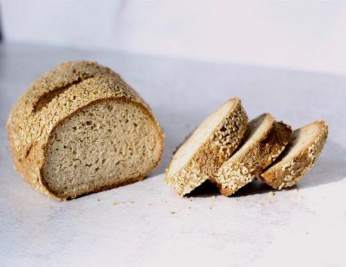 keto gluten free sesame seed bread