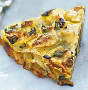 Summer Squash & Potato Torte