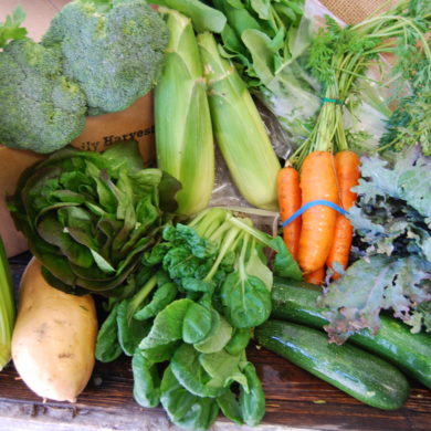 Summer Veggie Box