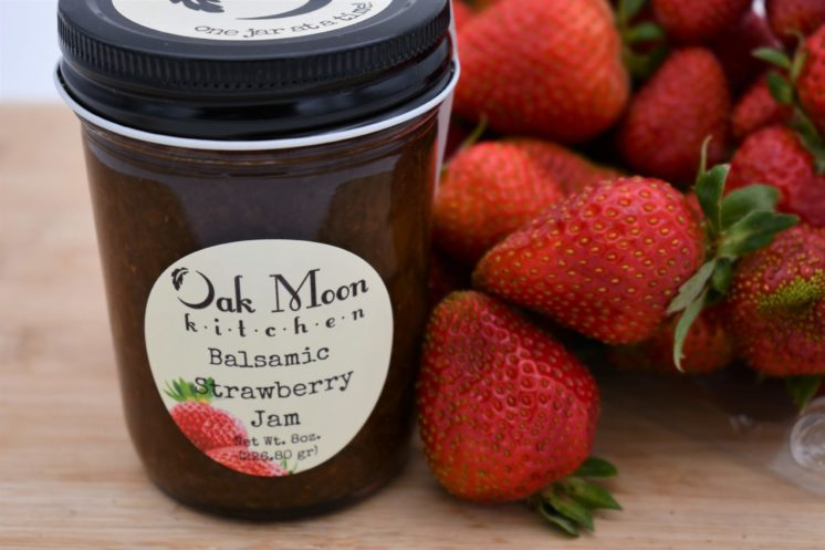 balsamic strawberry jam