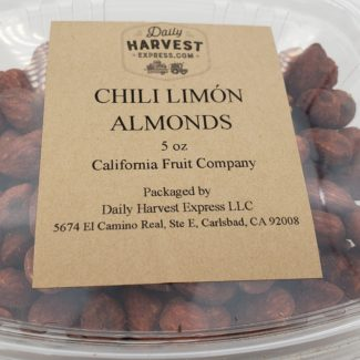 chili limon almonds