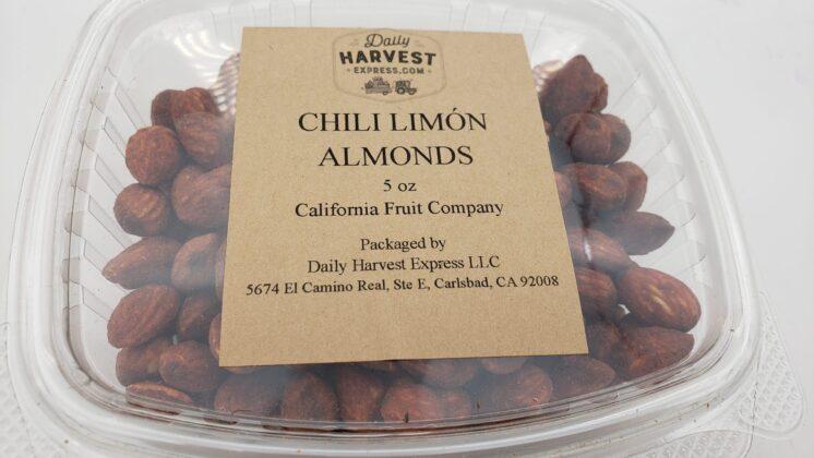 chili limon almonds