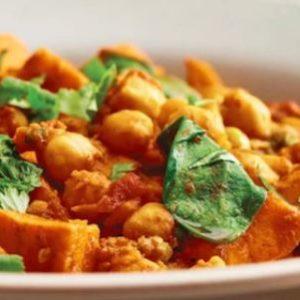 curried yam stew