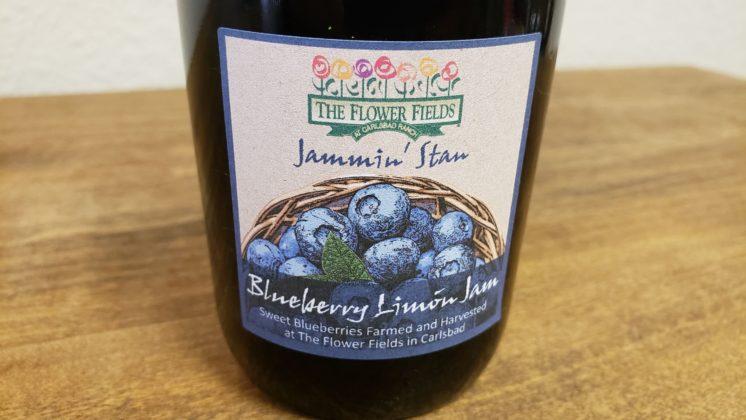 blueberry limon jam