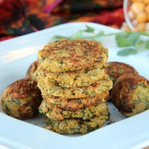 zucchii falafel