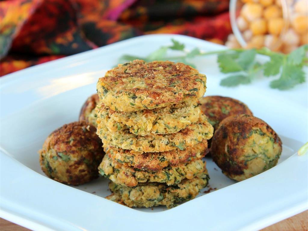 Healthy Zucchini Falafel