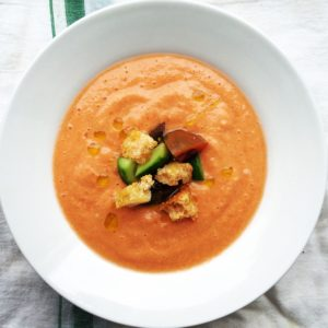 Creamy No Cream Gazpacho