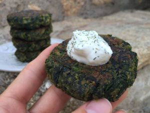 Greek Spinach Patties