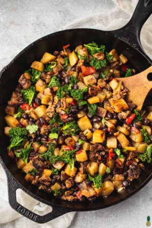 Vegan Breakfast Potato Hash