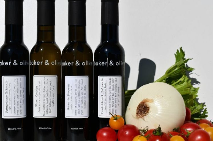 baker & olive 4 bottles