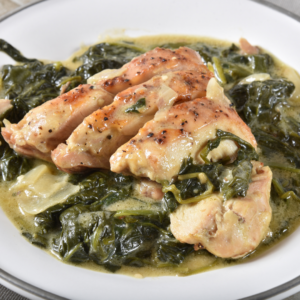 Chicken Breast Florentine