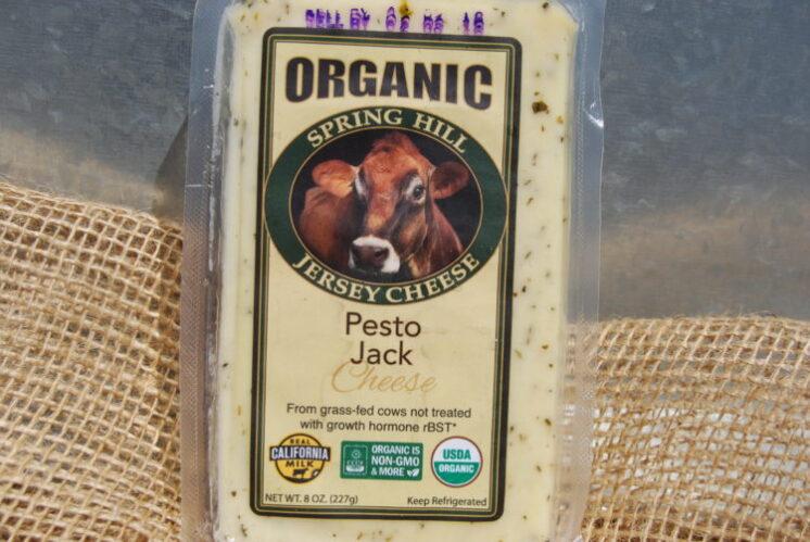 pesto jack cheese