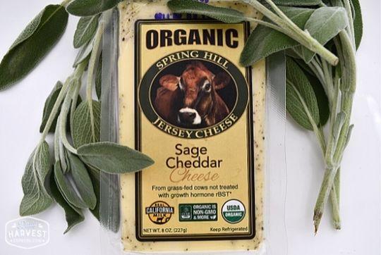 Sage Cheddar Cheese