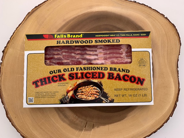 thick sliced bacon
