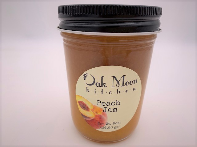 oak moon kitchen peach jam