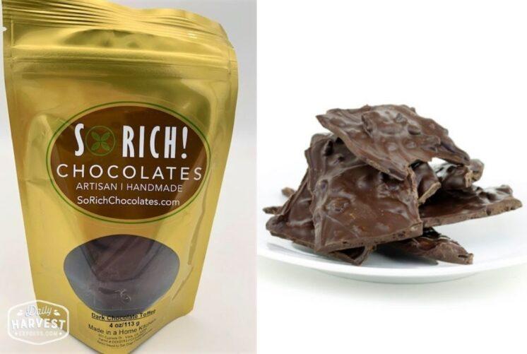 So Rich Dark Chocolate Toffee